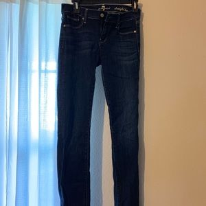 7 for mankind jeans size 26